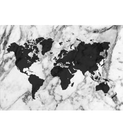 Worldmap - Black