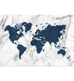 Worldmap - Blue