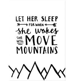 Move Mountains - Hand Lettered