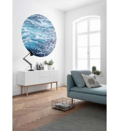Aloha Self-adhesive Wallpaper Circle ⌀125cm