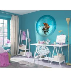 Ariël Dreaming Self-adhesive Wallpaper Circle ⌀125cm