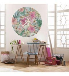 Ariel Self-adhesive Wallpaper Circle ⌀125