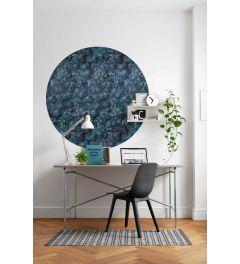 Azul Self-adhesive Wallpaper Circle ⌀125cm