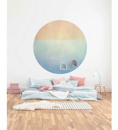 Balance Self-adhesive Wallpaper Circle ⌀125cm