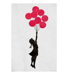 Banksy Poster Girl Floating 61x91.5cm