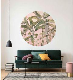 Botany Self-adhesive Wallpaper Circle ⌀125cm