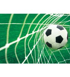 Football Goal 1-part Vlies Wall Mural 152x104cm