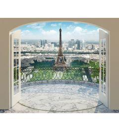 Paris Eiffel Tower 12-part Wawll Mural 305x244cm