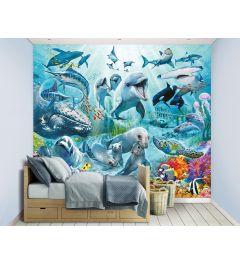 Underwater Sea Adventure XXL Wall Mural 305x244cm