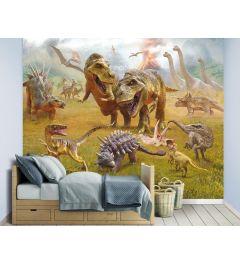 Dinosaurs XXL Wall Mural 305x244cm
