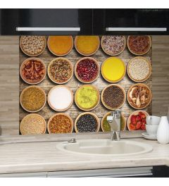 Kitchen Panel Spices 65x47cm