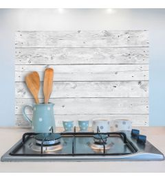 Kitchen Panel White/Grey 65x47cm