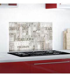 Kitchen Panel Coffee 65x47cm