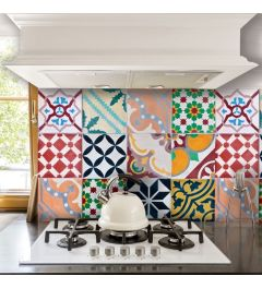 Kitchen Panel Portuguese Tiles 65x47cm
