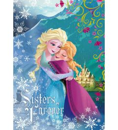 Frozen Sisters Forever 1-Part Vlies Wall Mural 104x152cm