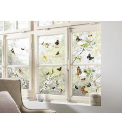 Butterflies Window Sticker Set
