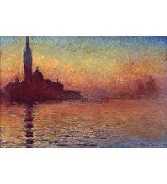 Claude Monet San Giorgio Maggiore At Dusk Poster 91.5x61cm