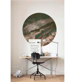 Cuivre Self-adhesive Wallpaper Circle ⌀125cm