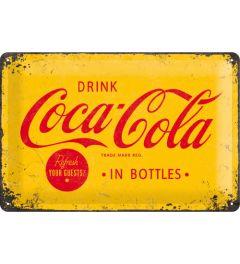 Coca-Cola - Logo - Yellow