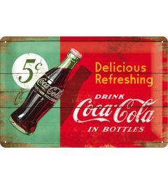 Coca-Cola - Delicious Refreshing - Green