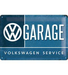 Volkswagen - Garage - Blue