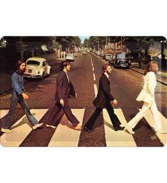 Fab4 Abbey Road Metal wall sign 20x30cm