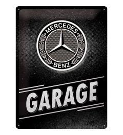 Mercedes Benz Garage Metal wall sign 30x40cm