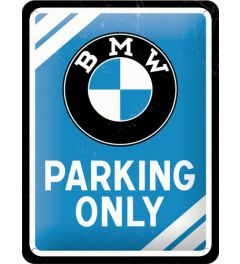 BMW - Parking Only - Blue