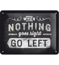 Go left 15x20