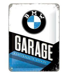 BMW Garage Metal wall sign 15x20cm