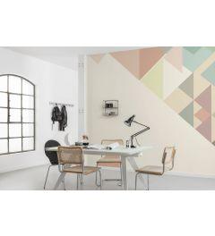 Delta Bauhaus 4-part Wall Mural 400x280cm