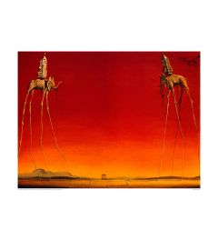 Dali Les Elephants 1948 Art print 60x80cm