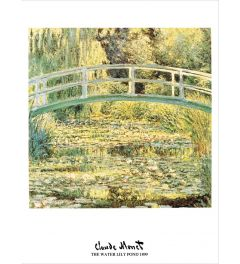 Monet Waterlily Pond 1899 Art print 60x80cm