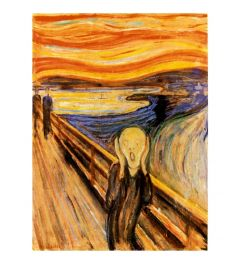 Munch The Scream Art print 60x80cm
