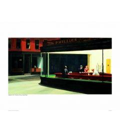 Hopper Nighthawks Art print 60x80cm