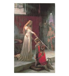 Leighton The Accolade Art print 60x80cm
