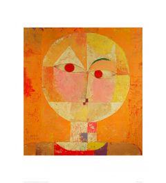 Klee Senecio Art print 60x80cm