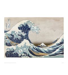 Hokusai Great Wave Art print 60x80cm