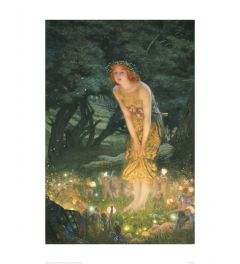 Hughes Midsummer Eve Art print 60x80cm