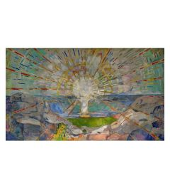 Munch The Sun Art print 60x80cm
