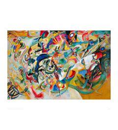 Kandinsky Composition V11 1913 Art print 60x80cm