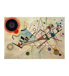 Kandinsky Composition V111 1913 Art print 60x80cm
