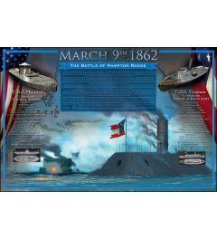 March 9th, 1862 - The battle of Hampton Roads