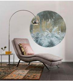 Exotic Jungle Self-adhesive Wallpaper Circle ⌀125cm