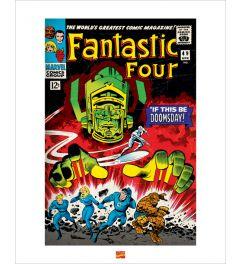 Fantastic Four Art Print 40x50cm