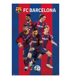 FC Barcelona 2020/2021 Group Poster 61x91.5cm