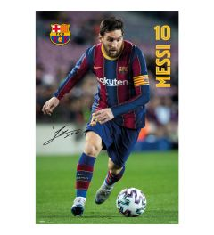 FC Barcelona 2020/2021 Messi Poster 61x91.5cm