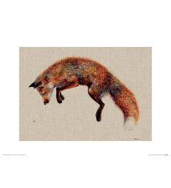 Felix and the Bee Art Print Jane Bannon 30x40cm