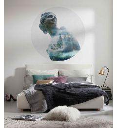 Gaia Self-adhesive Wallpaper Circle ⌀125cm