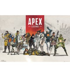 Apex Legends Group Poster 61x91.5cm